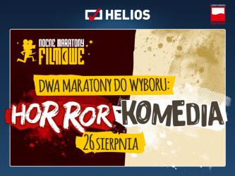 Dwa maratony filmowe jednej nocy w kinach Helios!