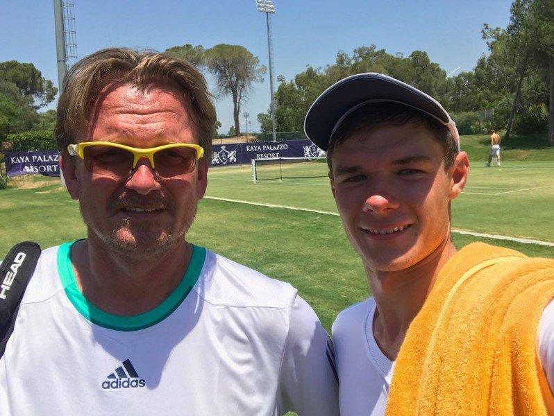 Kamil Majchrzak zadebiutował w turnieju ATP