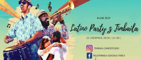 Wakacyjne latino w klubie Sejf