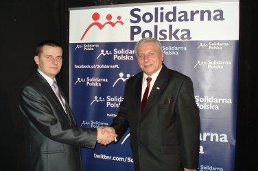 Michał Słowiński Pełnomocnik Solidarnej Polski w Powiecie Piotrkowskim.