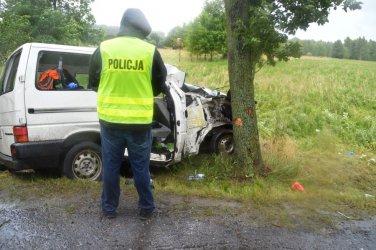 30-latek zginął w wypadku