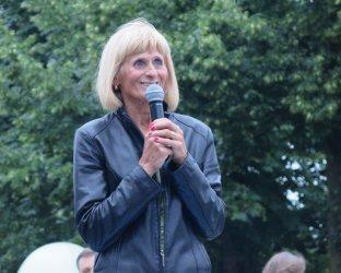 Wanda Panfil była specjalnym gościem piotrkowskiego półmaratonu