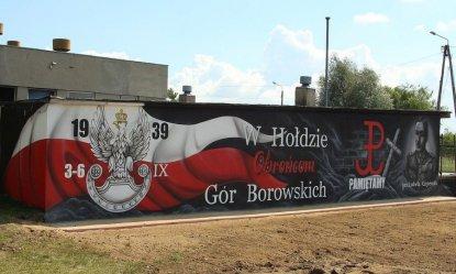 W Woli Krzysztoporskiej powstał patriotyczny mural