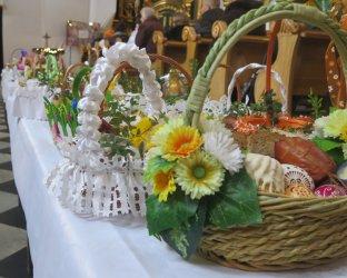 Święciliśmy pokarmy w kościołach