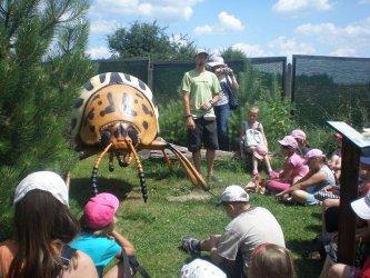 Dzieci z Piotrkowa poznały świat owadów
