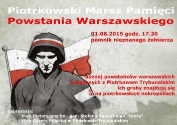 W rocznicę Powstania Warszawskiego będzie marsz