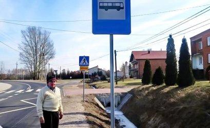 Niewidoczny przystanek w Bujnach ?