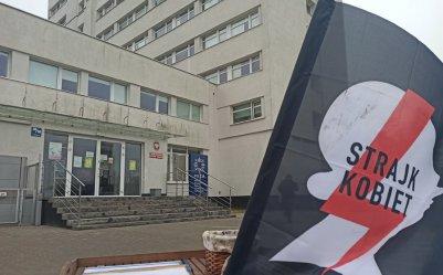 Policja przesłuchuje uczestników Strajku Kobiet w Piotrkowie