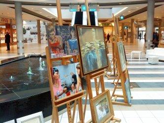 Sztuka w galerii… handlowej