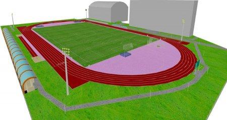 W Bełchatowie powstaje stadion lekkoatletyczny