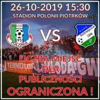Liczba miejsc na kolejny mecz Polonii ograniczona