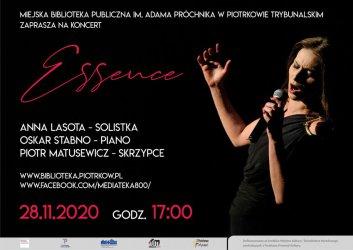 Biblioteka zaprasza na koncert on-line