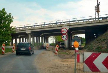Wiadukt przy Wojska Polskiego wybudowany. Prace na A1 prowadzone bez przeszkód
