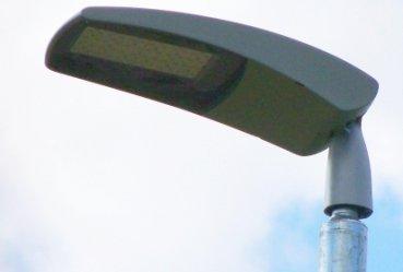 Ledowe lampy na osiedlu Wierzeje