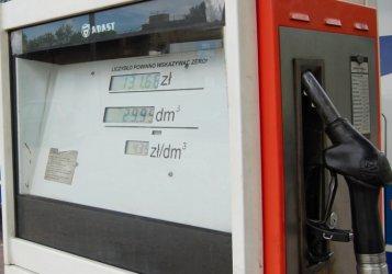 Zuchwała kradzież paliwa ze stacji benzynowych