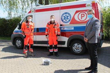 Ozonator dla ratowników medycznych z Grabicy