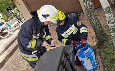 Strażacy pokażą, jak obchodzić się z butlą gazową