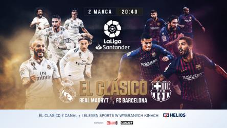 El Clasico na wielkim ekranie!