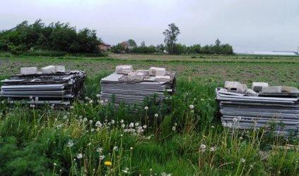 Ponad 130 ton azbestu mniej w gminie Wola Krzysztoporska