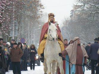 Orszak Trzech Króli w Piotrkowie