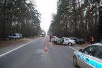 Region: Dwaj kierowcy ranni w wypadku