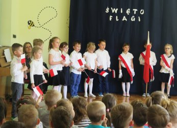 Święto Flagi w piotrkowskim przedszkolu