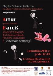 Artur Barciś z recitalem w Piotrkowie