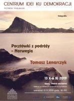 Pocztówki z Norwegii. Wystawa fotografii w Galerii