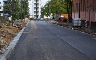 Modernizacja ul. Broniewskiego trwa