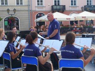 Miejska Orkiestra Dęta zagrała na Rynku