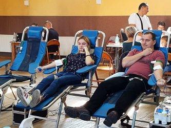 Zbierali krew dla Krzysztofa z Wolborza