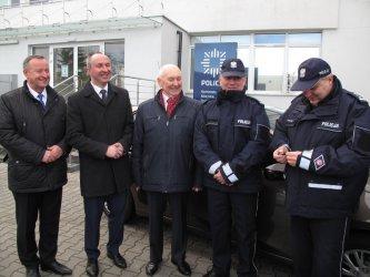 Nowy radiowóz dla komisariatu policji w Wolborzu