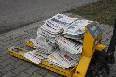 Czy prasa drukowana naprawdę upada?