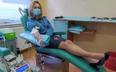 Służba Więzienna oddaje krew (galeria)
