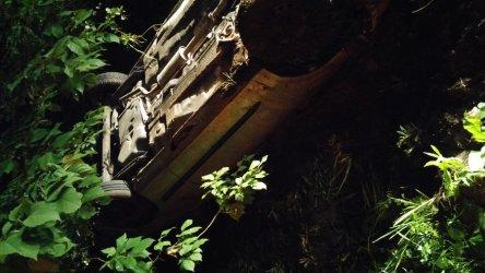 Samochód dachował na Wierzejach. Kierowca zniknął...