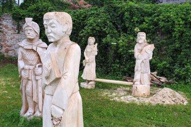 Rzeźbiarze zaprezentowali swoje prace
