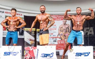 Piotrkowski kulturysta odniósł podwójne zwycięstwo w Sopocie