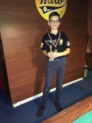 Bilardzista z Rękoraja najlepszym juniorem w kraju