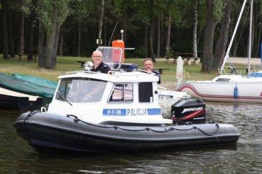 Policja wodna już gotowa do akcji