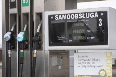 Ceny paliw przestaną spadać