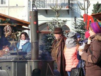 Poranek z filmowcami na Rynku Trybunalskim
