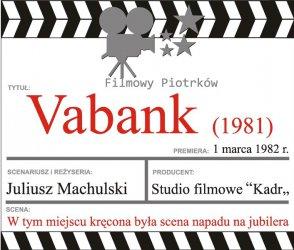 Szlak filmowy - nowe tablice informacyjne na Starym Mieście