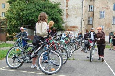 Dwudniowy rajd rowerowy uczniów z SP 10