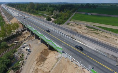 Zmiany na budowanej A1. Znikną ronda w Jeżowie