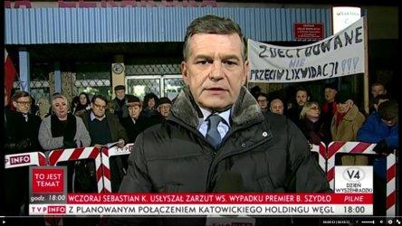 Sprawa przenosin poradni w TVP INFO
