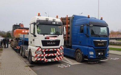 Piotrkowska ITD zatrzymała kolejne zbyt ciężkie transporty