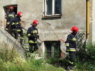 Katastrofa budowlana w kamienicy przy ul. Belzackiej