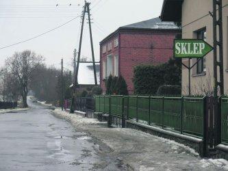 Na mieszkańców wsi Krężna padł blady strach