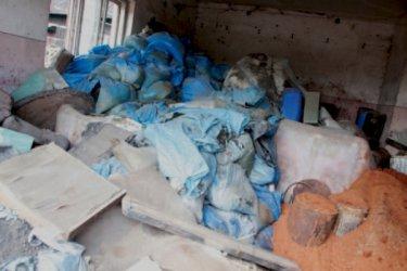 Wolbórz: Chemikalia nadal na działce