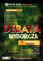 Debata przedwyborcza na UJK